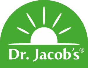 Logo Dr. Jacobs Grün Sonne