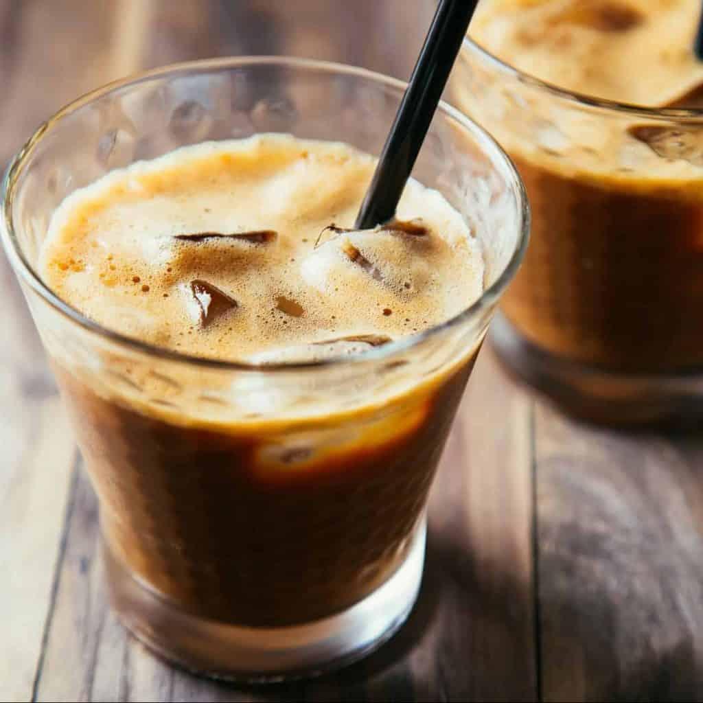 Ice Café Frappe Glas