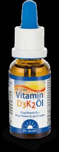 Vitamin D3K2 DrJacob Flasche 190619